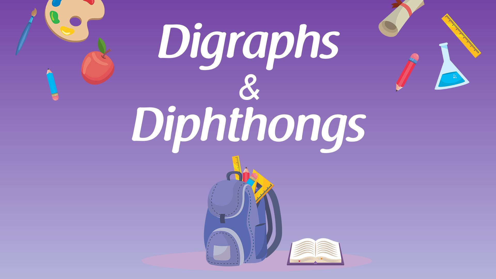 Digraphs and diphthongs thumbnail
